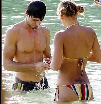 Playa Nudista Anna Kournikova