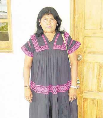Vestido de la mujer ngobe bugle